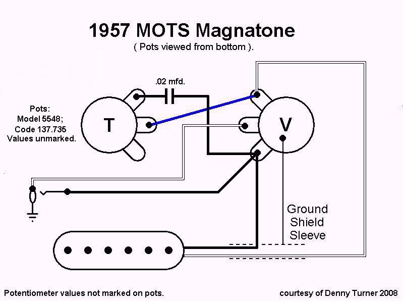 lap steel wiring diagram